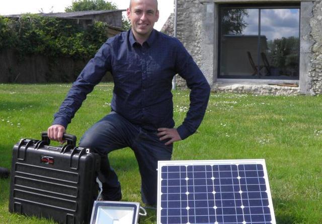 anthony peslier - dirigeant de l'Électron vert
