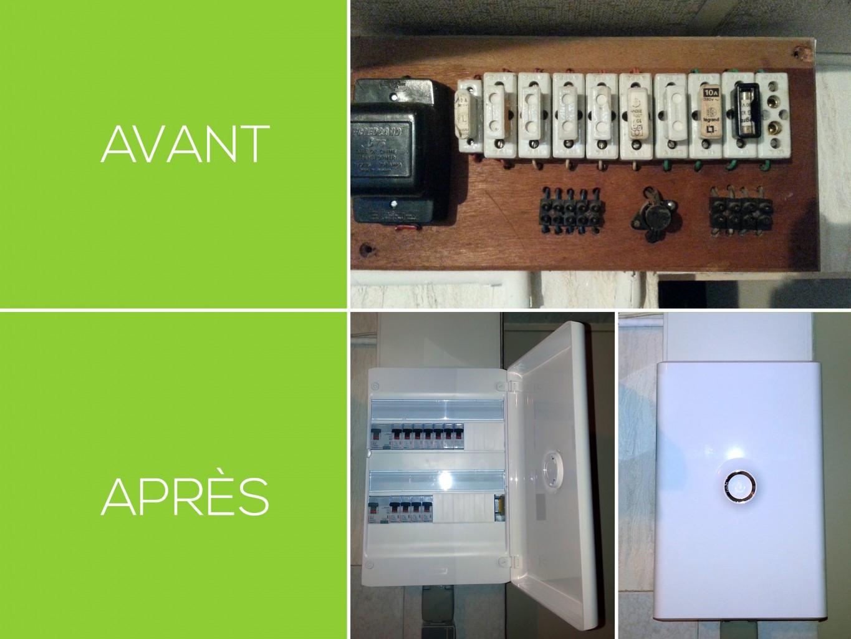 changement de tableau électrique aux normes