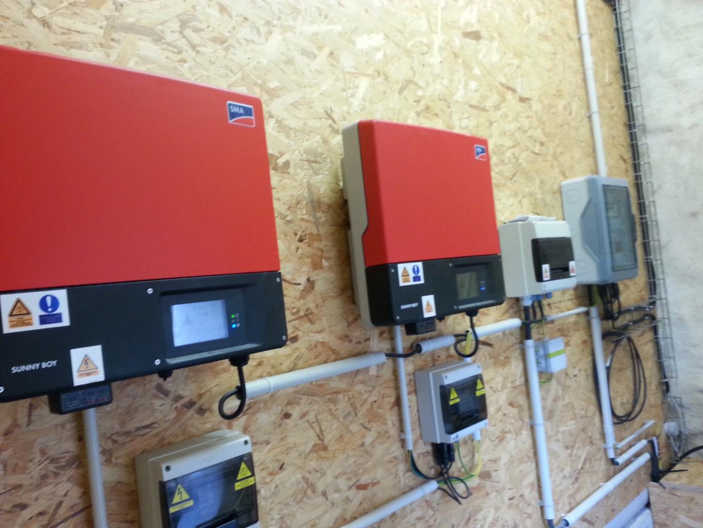 système de gestion de l'électricité produite